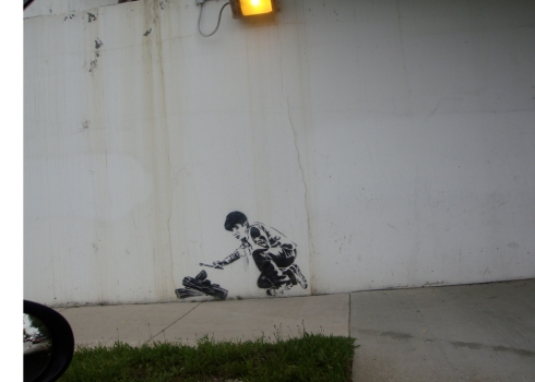 The BlogoBanksy 'Strikes' again!